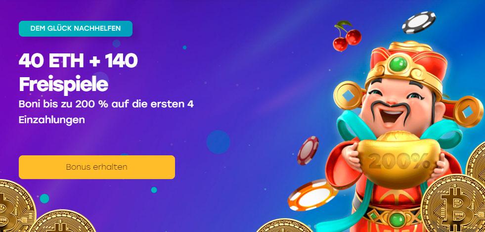 Bitcoin casino token anmelden